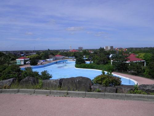 蓮沼海浜公園プール